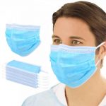Perfessional Medical Mask Disposable 3-Ply Face Mask – 100pcs