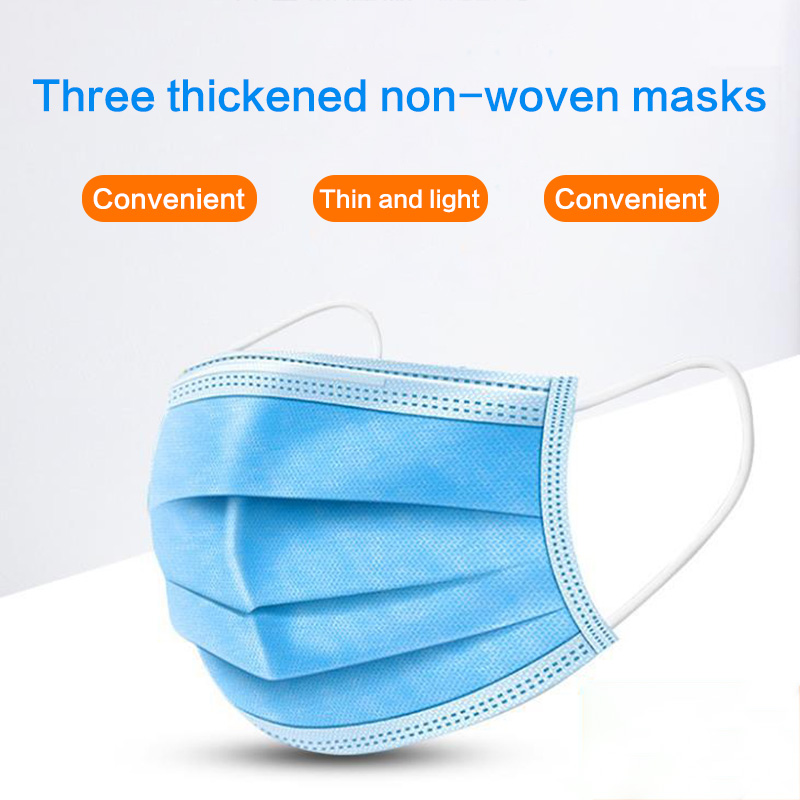 Perfessional Medical Mask Disposable 3-Ply Face Mask 10 -100 Pc ...
