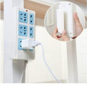 Self-Adhesive Power Strip Wall Mount 3