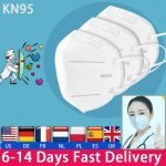 KN95 Medical Face Masks With Breathing Valve Fresh Air-Purifying Supply 1