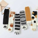 Embroidered Cartoon Women Socks (5 Pari) 1