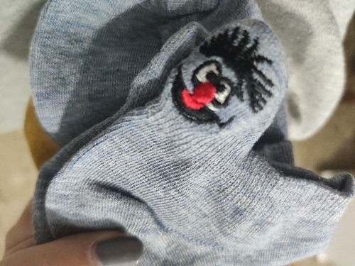 Embroidered Cartoon Women Socks (5 Pari) photo review
