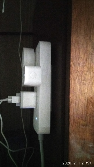 Self-Adhesive Power Strip Wall Mount photo review