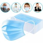 Perfessional Medical Mask Disposable 3-Ply Face Mask 100 Pc