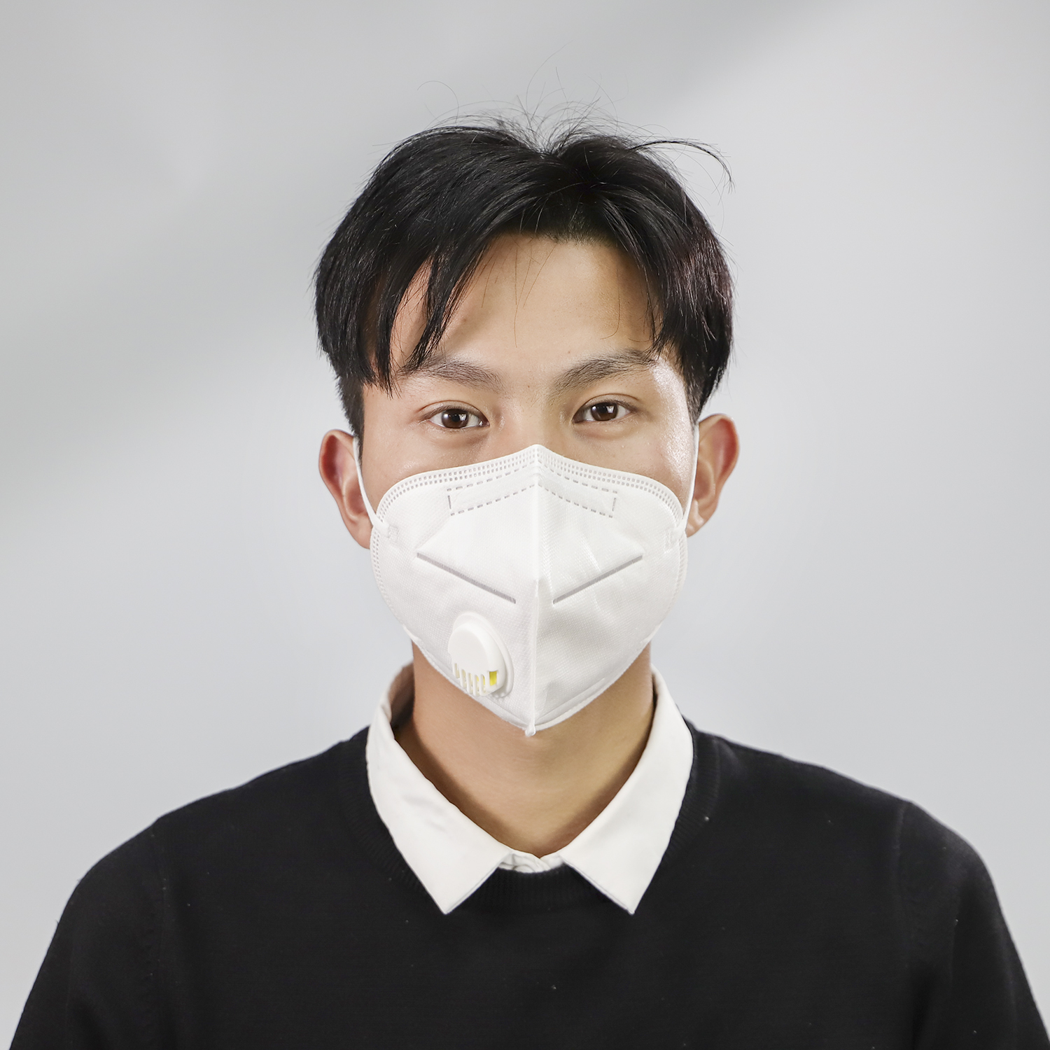 Disposable Face Mask Anti-droplet Respirator Mask For Kid 10PCS 1
