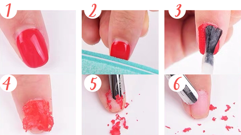 How to use Magic Nail Polish Remover?