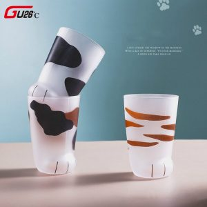 Creative Cat Paw Glass Cups 3