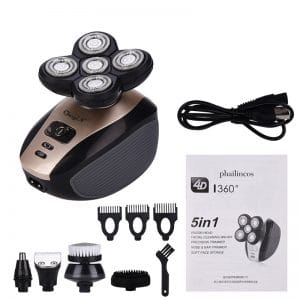 5 in 1 Premium 4D Electric Shaver 4