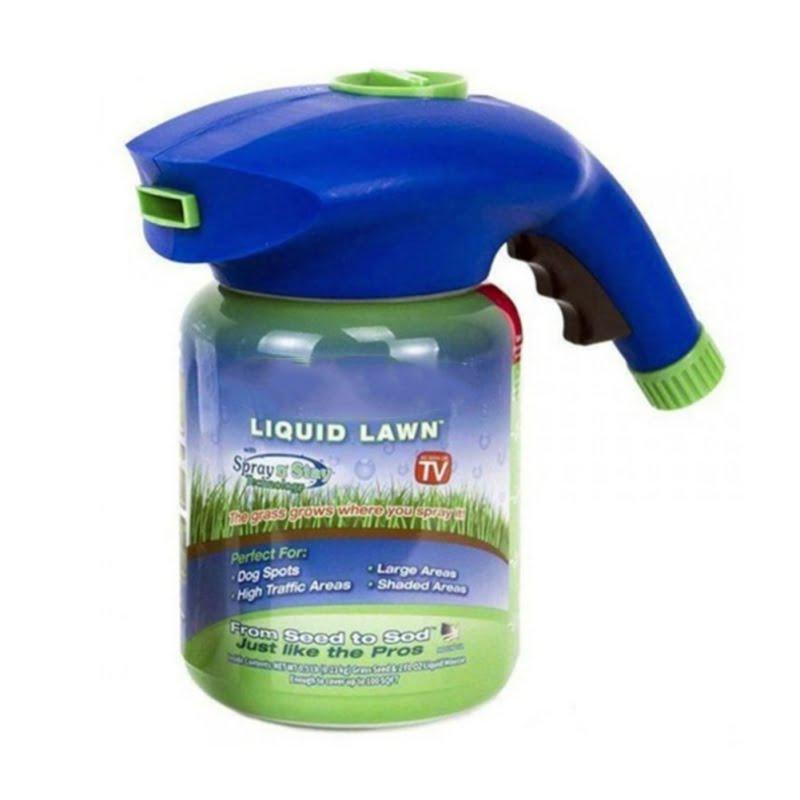 Liquid Lawn System Grass Seed Sprayer 1