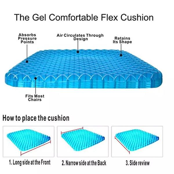 Honeycomb Gel Seat Cushion