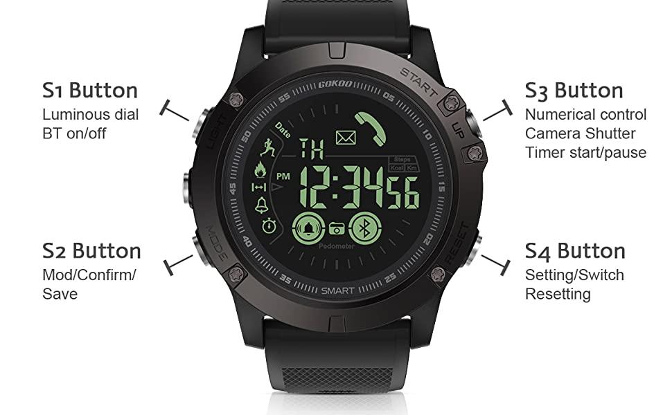 Tactical Smartwatch