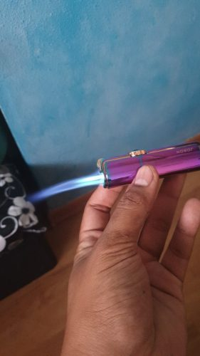 Powerful Windproof  Triple Jet Torch photo review