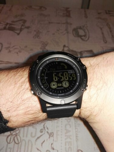 Tactical Smartwatch For IOS And Android photo review