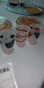 Creative Cat Paw Glass Cups photo review