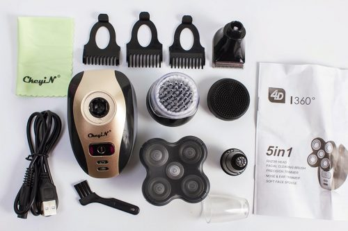 5 in 1 Premium 4D Electric Shaver photo review