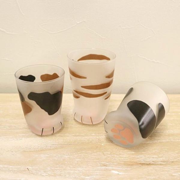 Creative Cat Paw Glass Cups