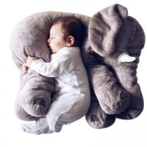 Infant Elephant Pillow 3