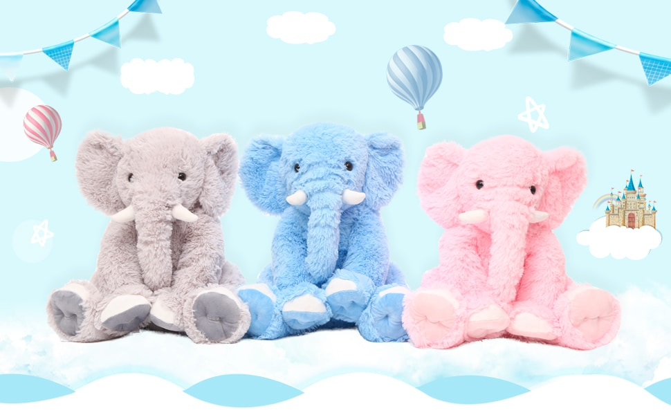 Infant Elephant Pillow