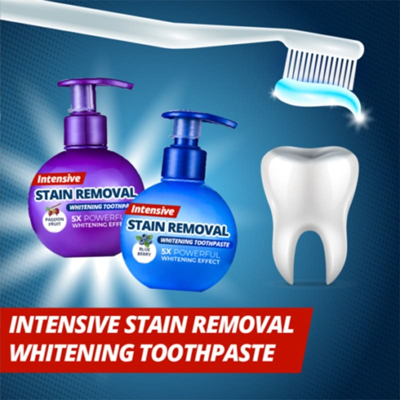 Intensive Stain Removal Whitening Toothpaste Jdgoshop Creative Gifts Funny Products Practical Gadgets For You