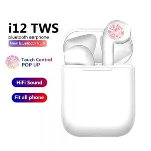I12 TWS WIRELESS BLUETOOTH EARBUDS 1