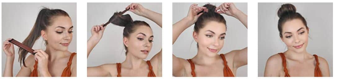 HOW TO USE Magic French Twist Instant Hair Bun Maker