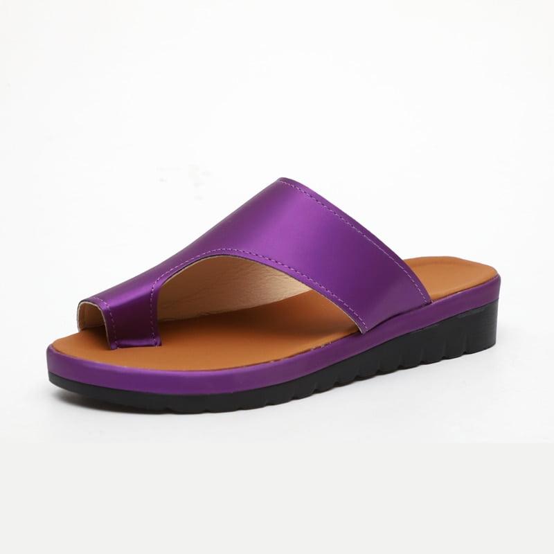 correct toe comfy sandals