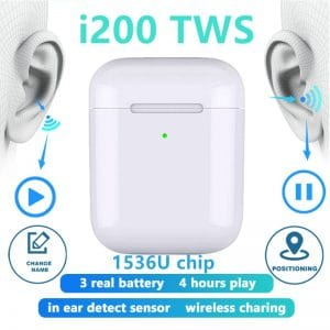 i200 TWS Bluetooth Earphone Wireless 2