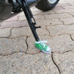 Motorcycle Bicycle Foot Support Small Shoes photo review