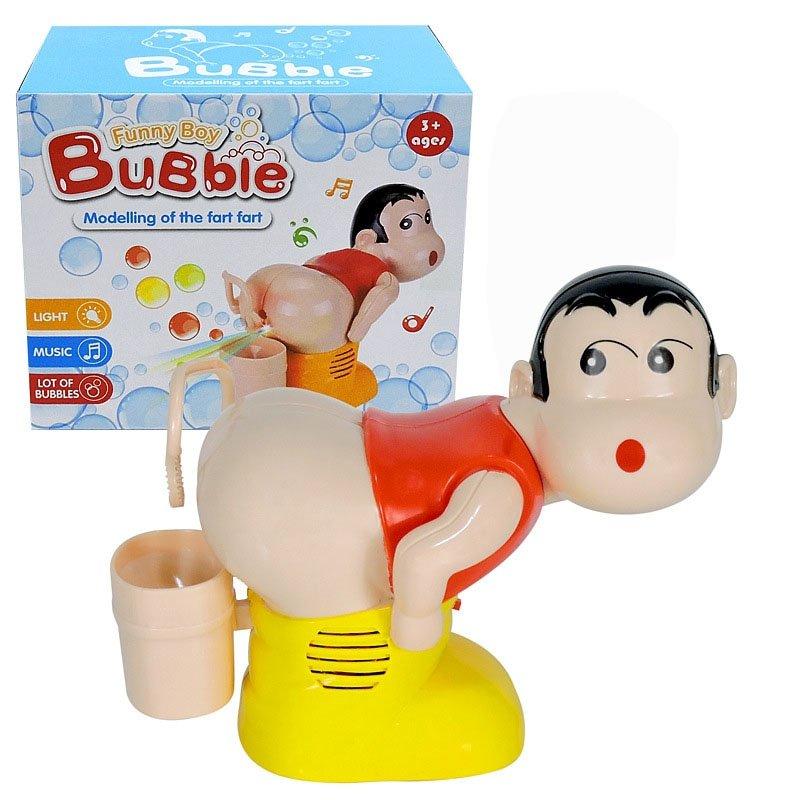 Funny Fart Bubble Blower