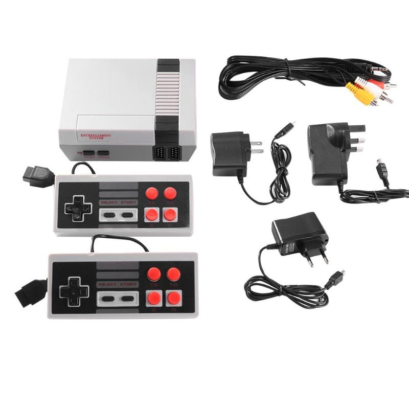 Classic NES Video Game Console with Built-in 600+ Games HD version (HDMI/AV Support)