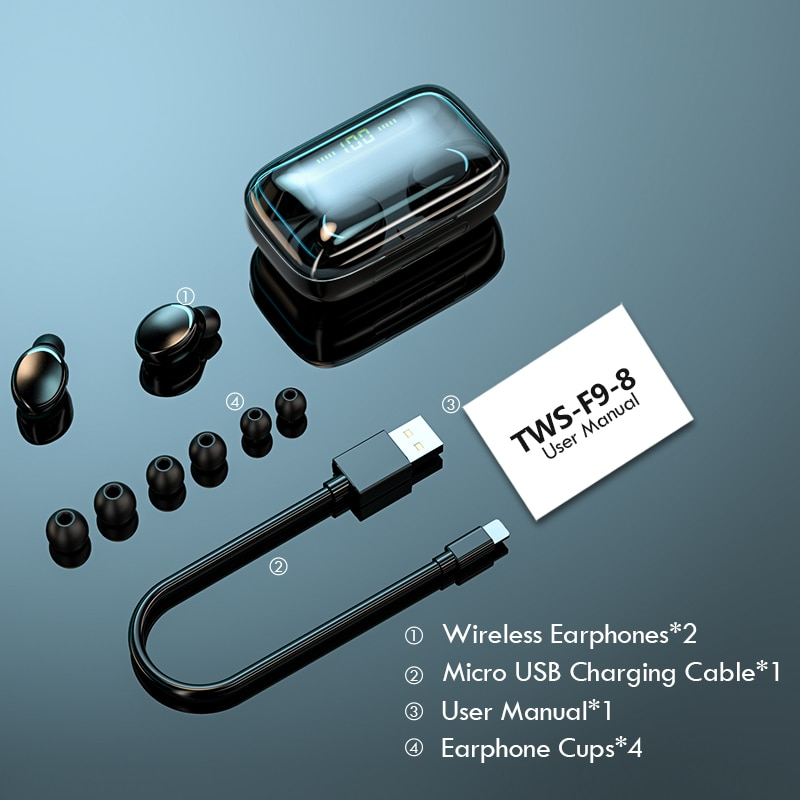 Bluetooth 5.0 TWS Earphones