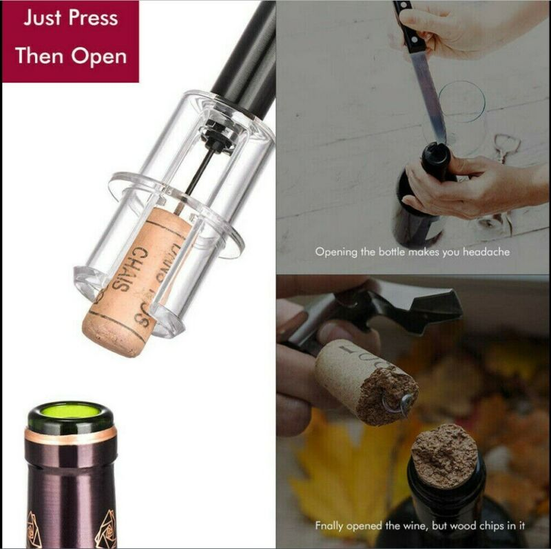 Bottle Rocket Wine Opener 4-piece Set