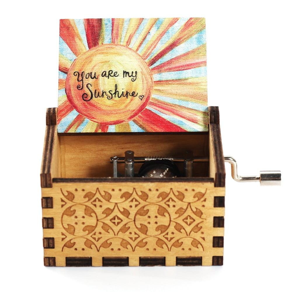 Premium Wooden Music Box