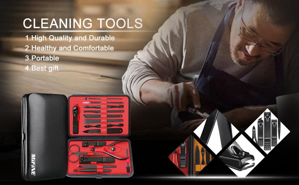 Mens Nail Healthy Tools Set