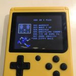 Retro FC Handheld Game Console Built-in 168 in 1 photo review