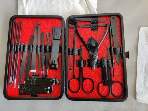 Mens Nail Healthy Tools Set photo review
