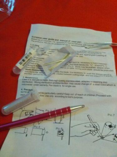 Hair Engraving Shaver Pen photo review