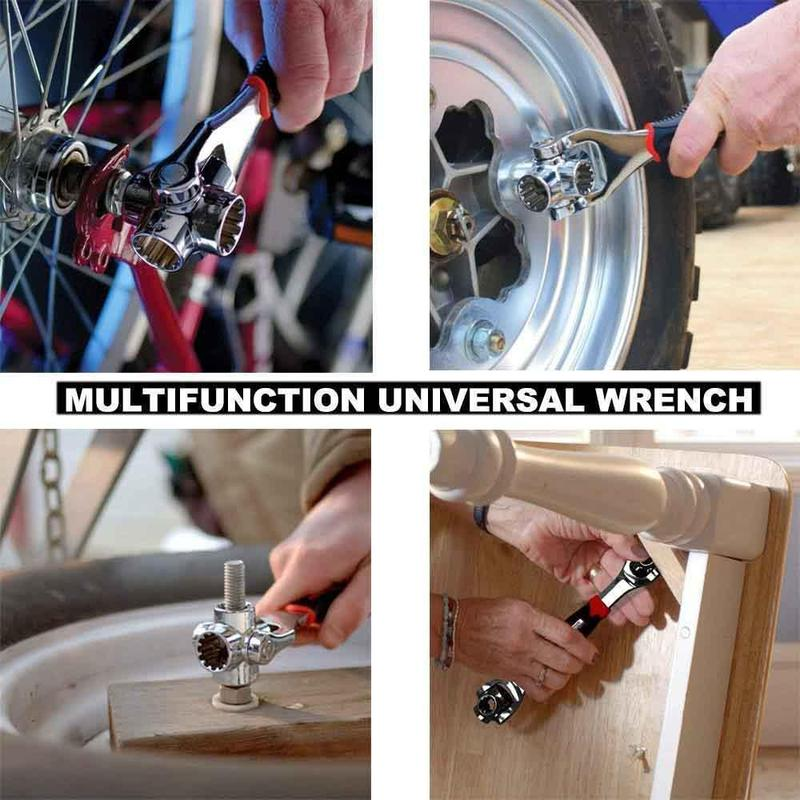 Hirundo 48-In-1 Tiger Wrench Universal Wrench