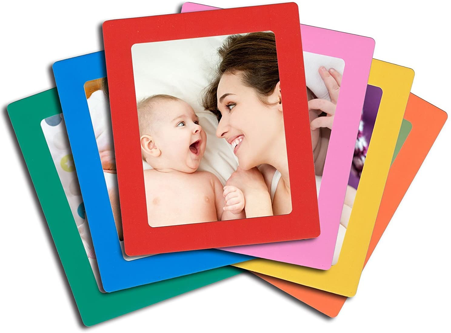 Colorful Magnetic Photo Frame