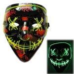 Clown-LED-Purge-Masks