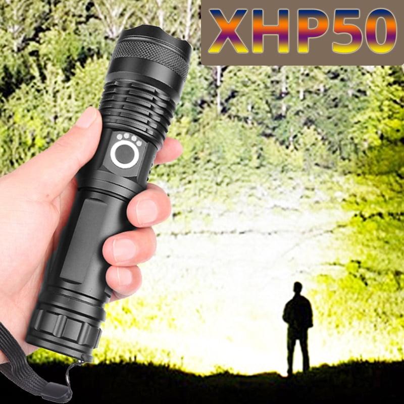 XHP P50 MOST POWERFUL FLASHLIGHT