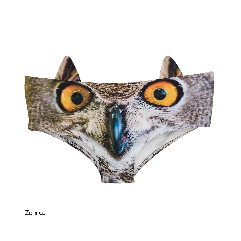 Women Kitty Cat 3D Ears Panties