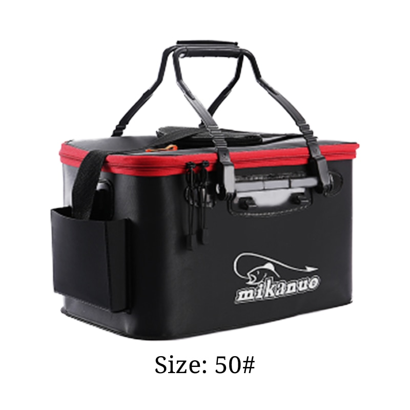 Collapsible Fishing Bucket with Aerator