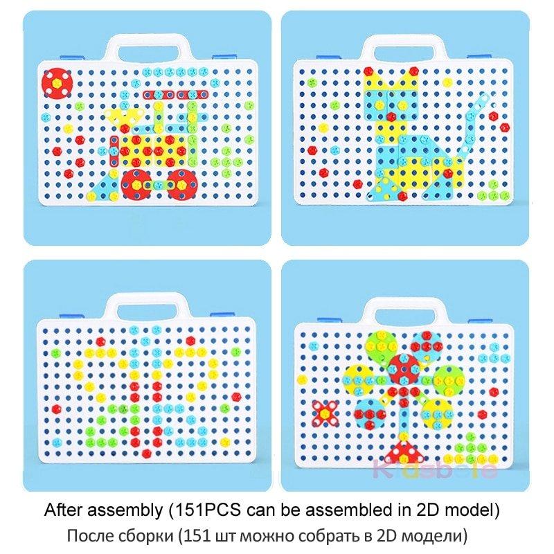 Creative Mosaic Drill Set