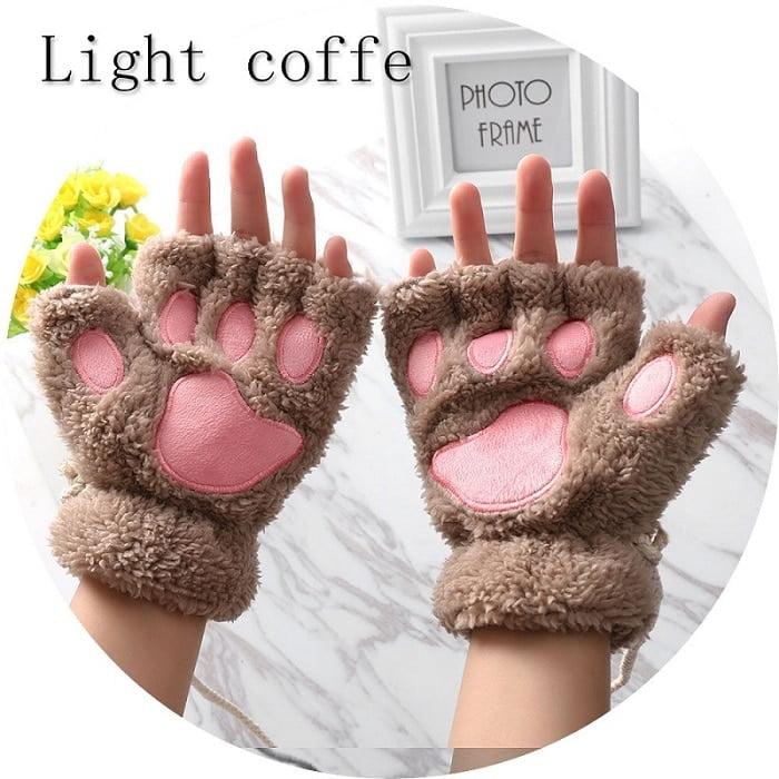 Cute Cat Paw Gloves