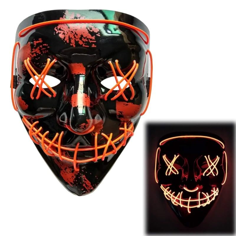 Clown LED Purge Masks