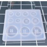 DIY Silicone Mold Resin Buttons