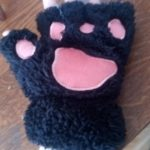 Cute Cat Paw Gloves photo review