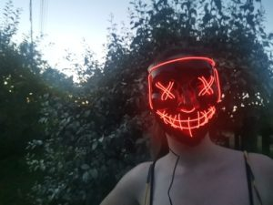 LED Purge Mask photo review