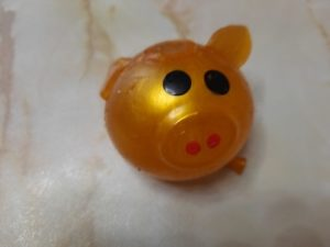 Squishy Pig Splat Ball photo review